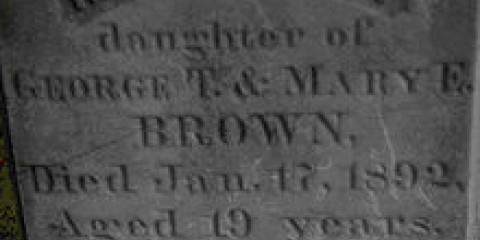Mercy Browns Grave
