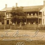 An old picture of the Buxton Inn
