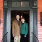 Orville and Audrey Orr-owners of the haunted Buxton Inn in Granville, OH