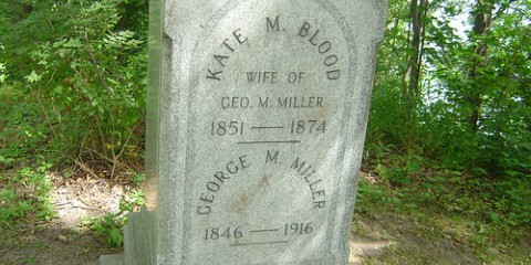 Kate Bloods Grave- Riverside Cemetery