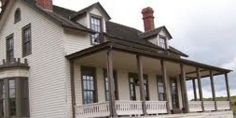 George Custer House at Fort Abraham Lincoln